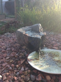 Rainwater feature